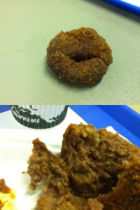 Food should never look like breaded poo.