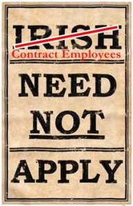 Contract Employees Need Not Apply