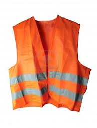 Ahh...a vest that reflects...that's what you meant by reflective vest!