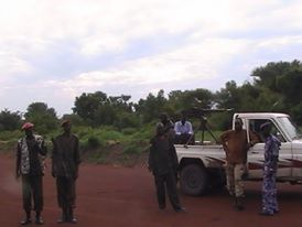 Elite South Sudanese Forces